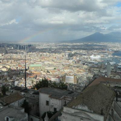 Widok na Neapol