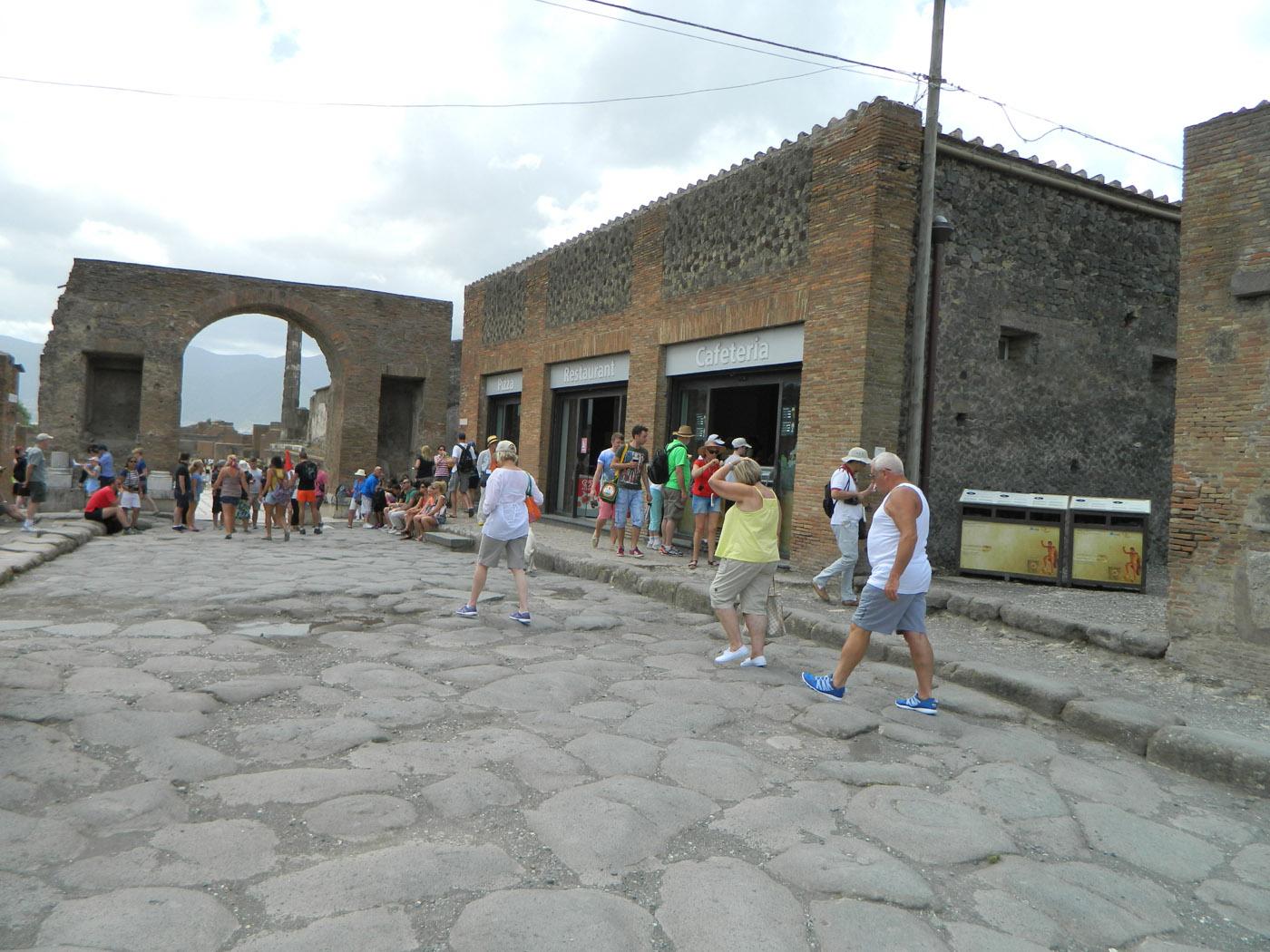 Pompeje - Brama Arco Onorario