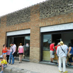 Pompeje - gastronomia