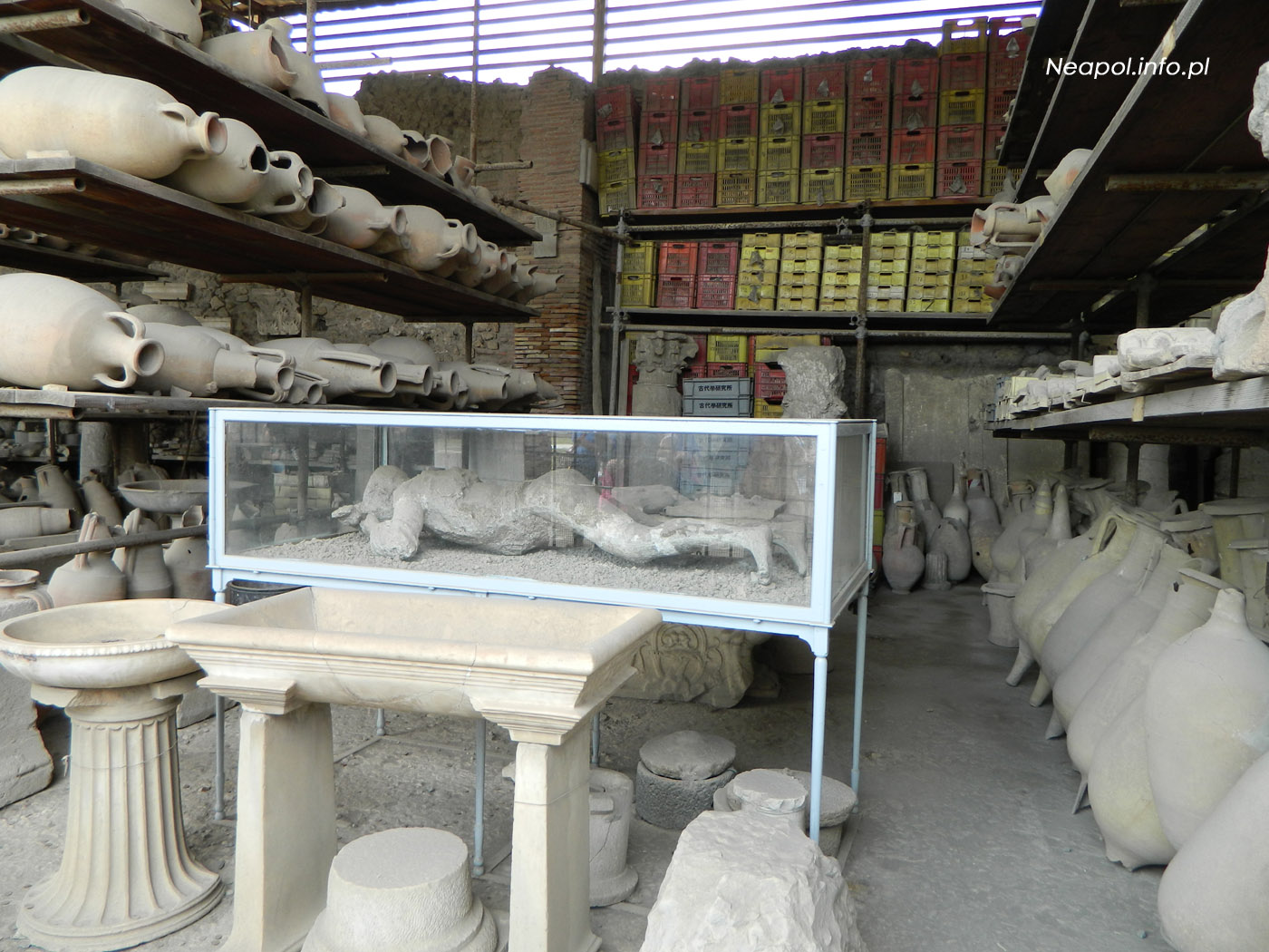 Pompeje - Forum Granary