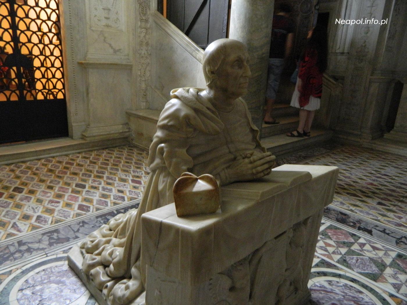 Duomo - Katedra - Pomnik kardynała Carafa