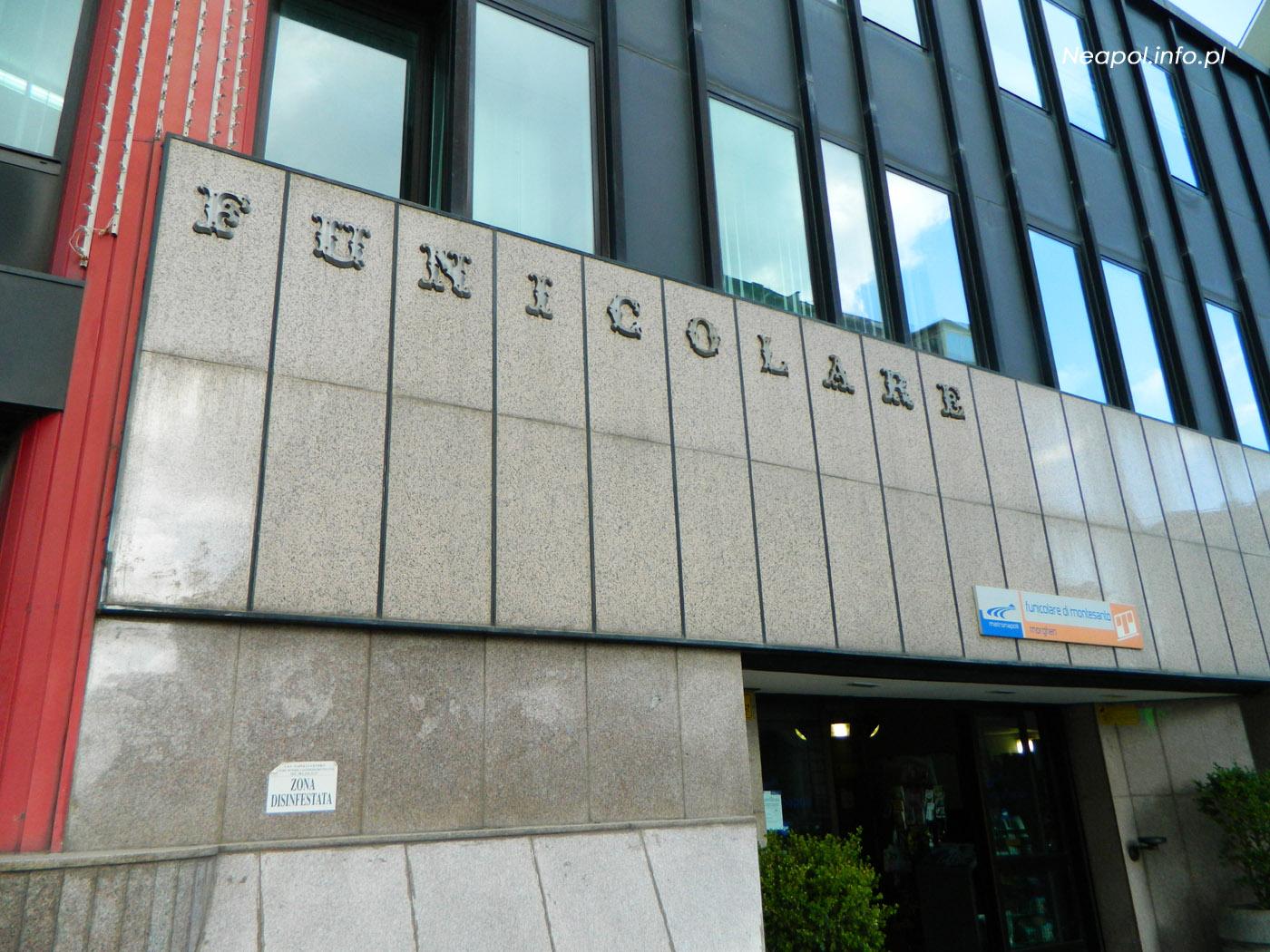 Funicolare - stacja kolejki